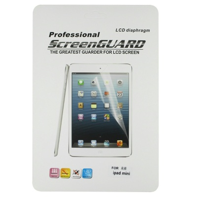 Protective Clear Screen Protector Guard Film for Ipad MINI