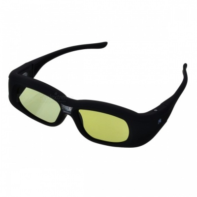 Gonbes G05-DLP 3D Active Shutter DLP-Link Glasses for Projector - Black