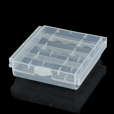 Protective PP Storage Case for 4*AA / AAA Batteries