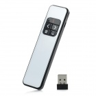 PP990 Rechargeable Li-ion PPT Page Down Red Laser Pointer Pen - White + Black