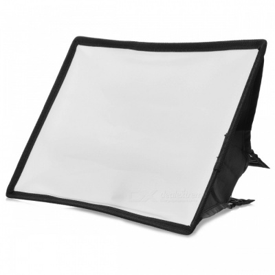 Folding Speedlight Softbox - Black + White (20*30cm)