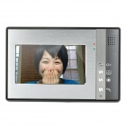 """SY802M12 1-To-2 7"""" TFT Rainproof Wired 3.6MM Digital Video Door Phone w/ Night Vision - Grey"""