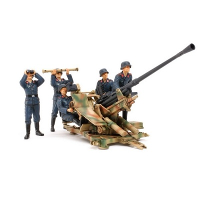 Tamiya 35302 1/35 German 3.7cm Flak 37 Anti-Aircraft Gun Plastic Assembly Kit