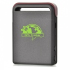 Heacent TK102B GSM / GPRS / GPS Tracker w/ TF Slot - Deep Grey +Coffee