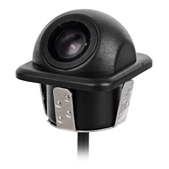 "Eagleyes EC-TH1009 1/4"" CCD 170' Wide Angle Car Rearview Camera w/ Night Vision - Black (DC 12V)"