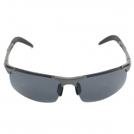 ReeDoon R8177 Polarized Resin Lens UV400 Protection Sunglasses - Grey