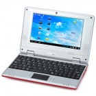 """IMOS 703A 7"""" Screen Android 4.1 Netbook w/ Wi-Fi / RJ45 / Camera / HDMI / SD Card Slot - Red"""