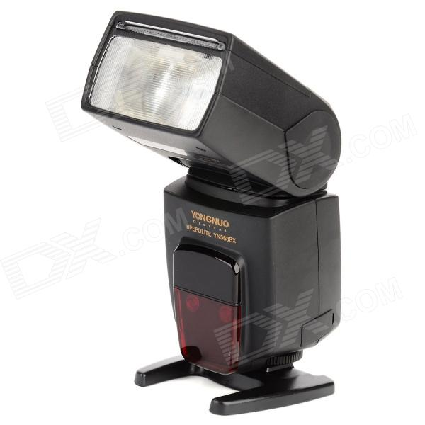 "YongNuo YN568EX III 2.0"" LCD High Speed 1/8000 Sync TTL Digital Flashgun for Nikon DSLRs - Black"