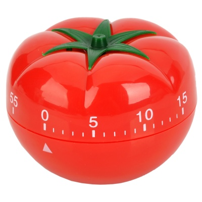Tomato Style Kitchen Scale Countdown Reminder Timer - Red + Green