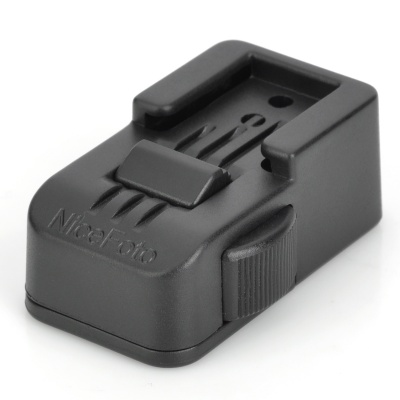 NICE FLH-15 Hot Shoe Flash Stand for Nikon / Canon - Black