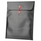 """Stylish Protective PU Inner Bag for MacBook Air 13.3"""" - Black"""
