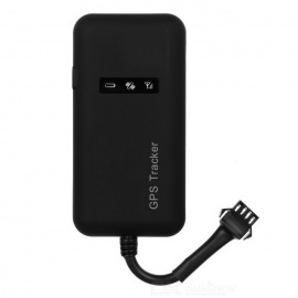 GPS / GSM / GPRS Anti-theft Monitoring Car Tracker - Black