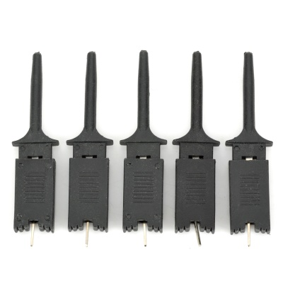 Logic Analyzer Test Clip - Black (5PCS)