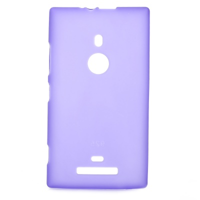 Protective Silicone Soft Back Case for Nokia Lumia 925 - Deep Purple