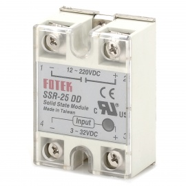 SSR-25DD Solid-state Relay - White