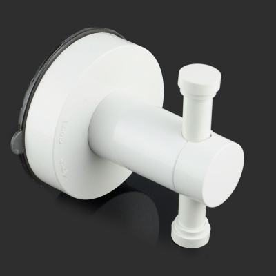 Powerful Vacuum Suction Cup Hook - White