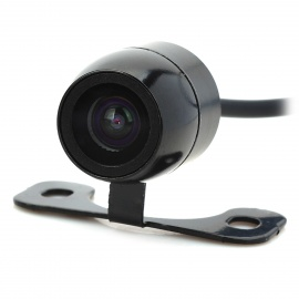 XY-1618 Universal Waterproof CCD Car Rearview Camera  - Black