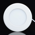6W 330lm 6000K LED White Light Round Ceiling Lamp w/ LED Driver - White (AC 110~240)