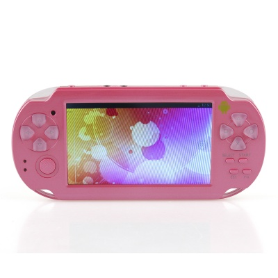 """ESER YXJ-01 4.3"""" Android 4.0 PSP Game Console w/ Wi-Fi / HDMI / Dual-Camera - Deep Pink"""