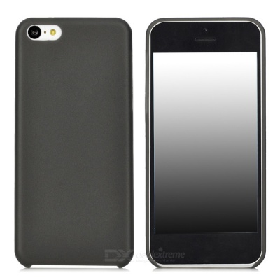 Ultra-thin Protective PC Case for IPHONE 5C - Black