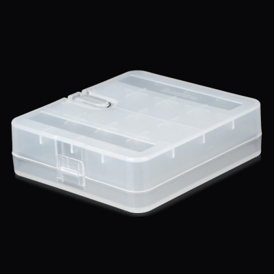Plastic Battery Storage Case for 18650 / 17670 / 16340 / CR2