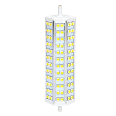ZnDiy-BRY R7S-15W R7S 15W 850lm 3500K 72-SMD 5050 LED Warm White Floodlight - Yellow + White (220V)
