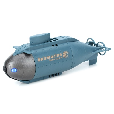 HappyCow 777-216 Wireless Remote Control Mini Submarine Toy - Blue