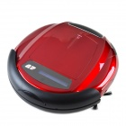 EJE Q5 LCD Panel Robotic Vacuum Cleaner w/ Remote Control Function - Red (220V / 2-Round-Pin-Plug)