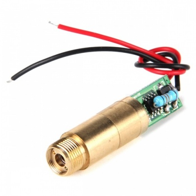 5mW 532nm Green Laser Module (3V 11.9mm)