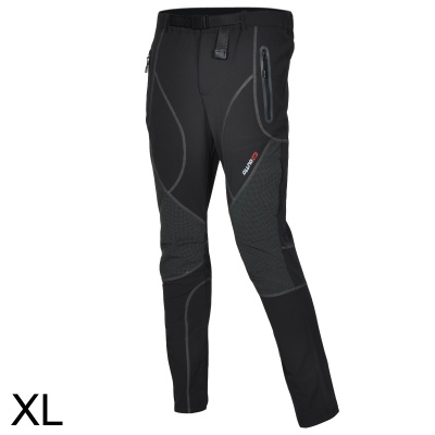 Outto Outdoor Sports Waterproof Polyester Ninth Pants for Men - Grey + Black (XL)