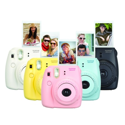 Genuine Fujifilm Instax Mini - Black (Instant Film)