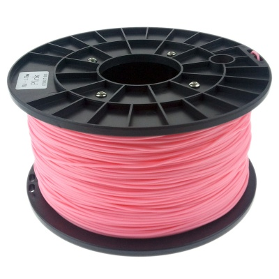 Heacent P175 3D Printers Dedicated 1.75mm Filament PLA Print Materials - Pink (1kg)