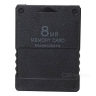 8MB Memory Card for PS2 - Black