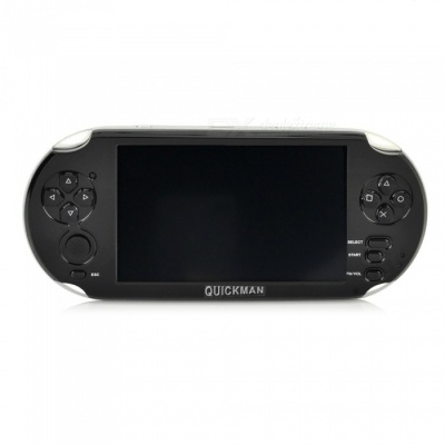 "5"" Capacitive Touch Screen Android 4.0.4 Game Console w/ Wi-Fi, 4GB, HDMI, 5.0MP Dual Camera - Black"