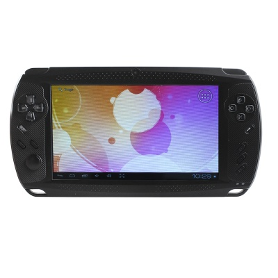 "ESER C7001A 7"" Android 4.0 PSP Game Console w/ Wi-Fi / HDMI / Dual-Camera / TF - Black"