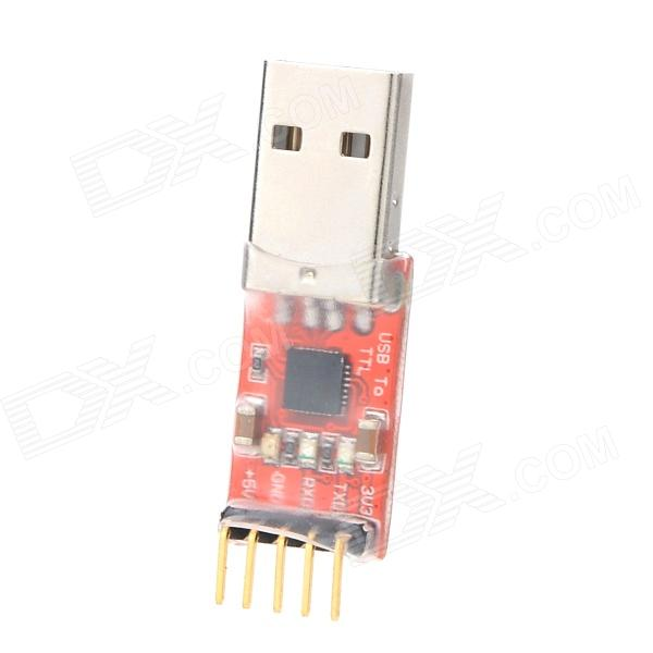 CP2102 USB to TTL USB UART Module Serial Converter - Red+Silver+Black