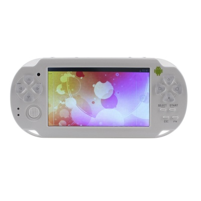 "ESER C4302 4.3"" Android 4.0 Game Console w/ Wi-Fi / HDMI / Dual-Camera - White"