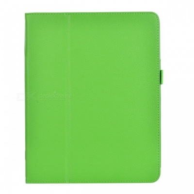 Stylish Protective PU Leather Case w/ Auto Sleep for Ipad AIR - Green