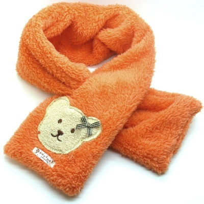 Kids Scarves Girls Winter Neck Warmer Bunk Plush Scarves Childrens Baby Scarf
