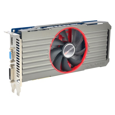 COLORFIRE R7-250 PCI-E Oland 730MHz Graphic Card - Blue + Grey