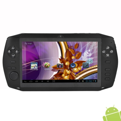 "K7001 7"" Capacitive Touch Android 4.0.4 Single-Core Network Game Console w/ 512M RAM / 8GB ROM / TF"