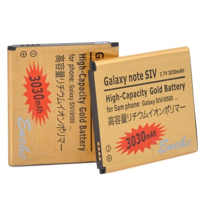 """3030mAh"" Replacement Batteries for Samsung Galaxy S4 i9500 - Golden"
