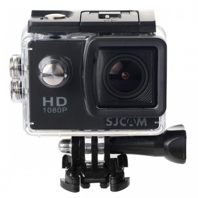 "SJCAM SJ4000 2.0"" 12MP FHD Outdoor Sports Digital Video Camera - Black"