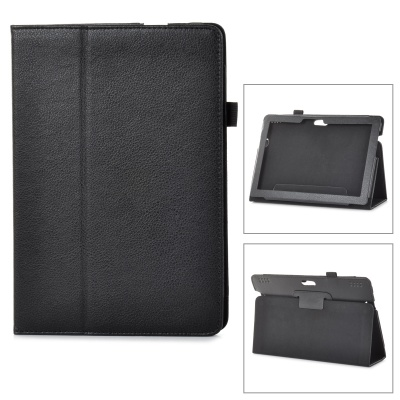 "Protective PU Leather Case w/ Auto Sleep for Amazon Kindle Fire HDX 8.9"" - Black"