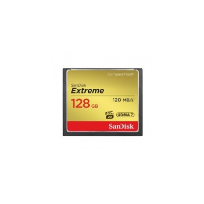 SanDisk Extreme 128GB Compact Flash UDMA7 120MB/s SDCFXSB-128G