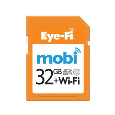 Eye-Fi Mobi 32GB SDHC Class 10 Wireless Memory Card