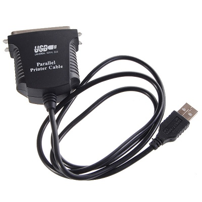 USB 2.0 to Parallel Printer Adapter Cable (97CM)