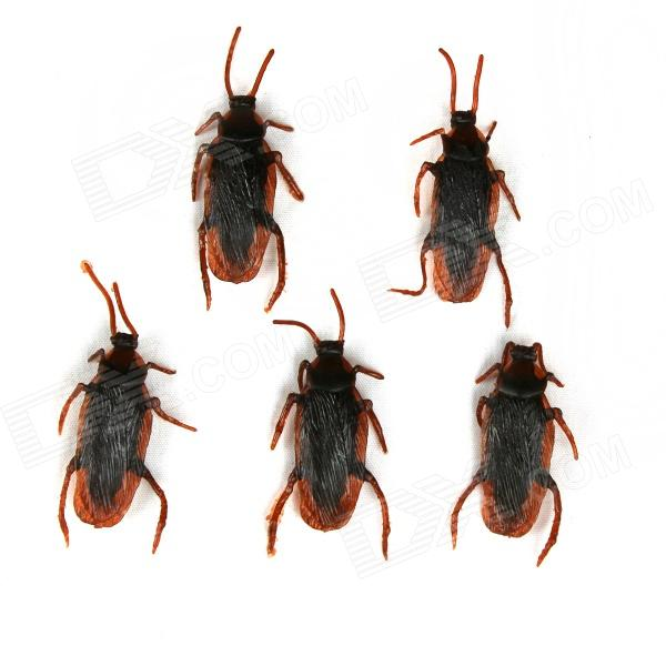 Tricky Toy Pseudo Cockroach - Red Brown (5 PCS)