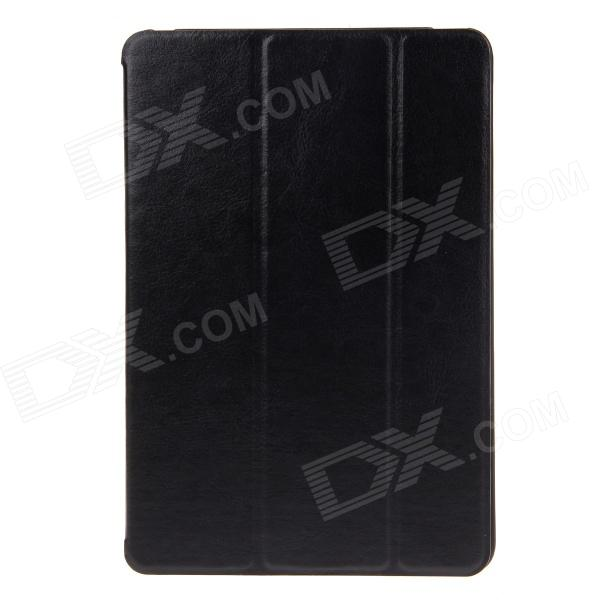 Ultra Thin Protective PU Leather Case Cover Stand for IPAD MINI -Black