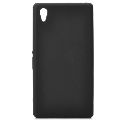 Stylish Protective Silicone Back Case for Sony Xperia Z1 / L39H / C6902 - Black